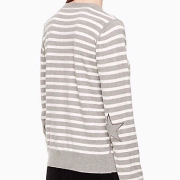 kate spade Sweaters - NWT Kate Spade Broome Street Star Patch Sweater